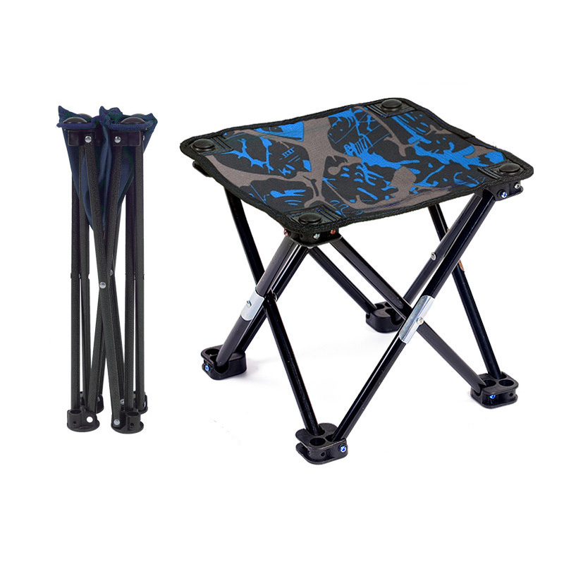 Astounding Us 23 14 40 Off Foldable Fish Fishing Chair Outdoor Camping Chairs Mini Portable Folding Stool 600D Oxford Cloth Bbq Travel Garden Beach Picnic In Evergreenethics Interior Chair Design Evergreenethicsorg