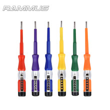 1pcs Colorful Portable Flat Screwdriver Electric Pen Utility Tool Screw Driver Household Hand Tools LED Voltage Tester 100-500V(China)