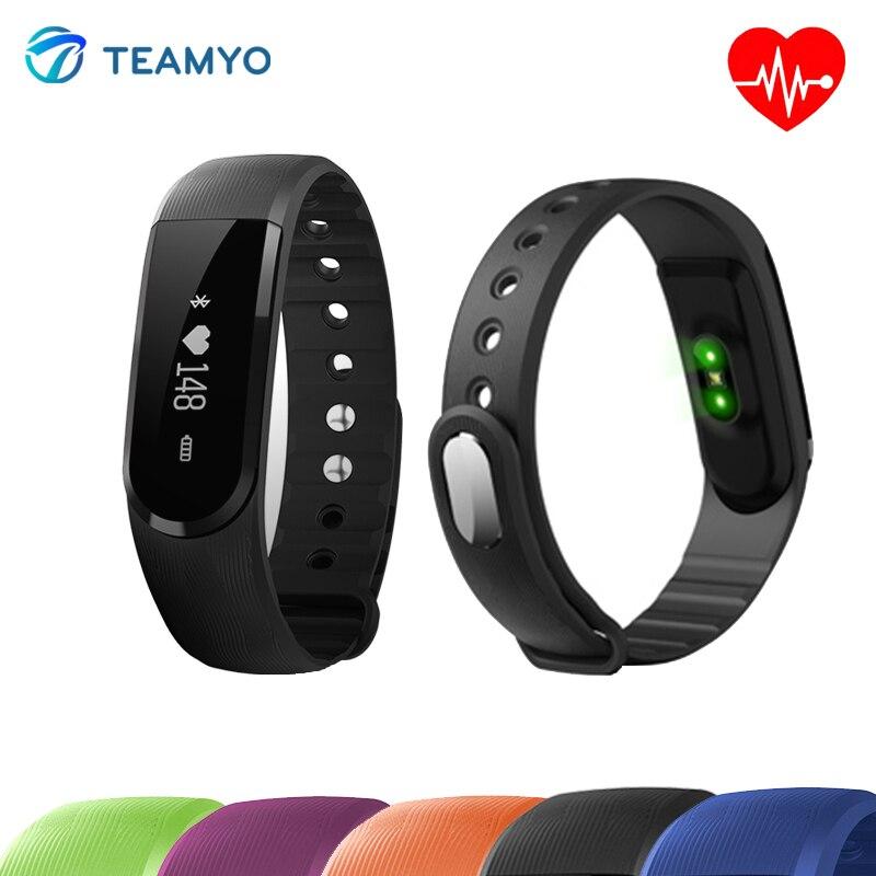 imágenes para ID101 Bluetooth Inteligente de Pulsera Smartband OLED de Pulso Del Ritmo Cardíaco Monitor de Fitness Rastreador Pulsera Anti-pérdida de Alarma Para IOS Android