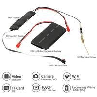DIY Camera Mini Wifi Camera Full HD 1080P Camcorder P2P Motion Detection Video Security With 2