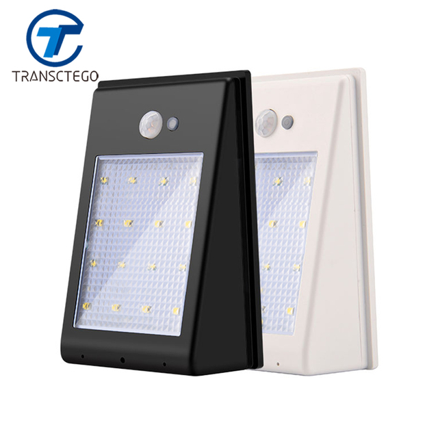 Led garden solar wall light motion sensor lamp outdoor 16 led pir led garden solar wall light motion sensor lamp outdoor 16 led pir battery powered waterproof eave aloadofball Choice Image
