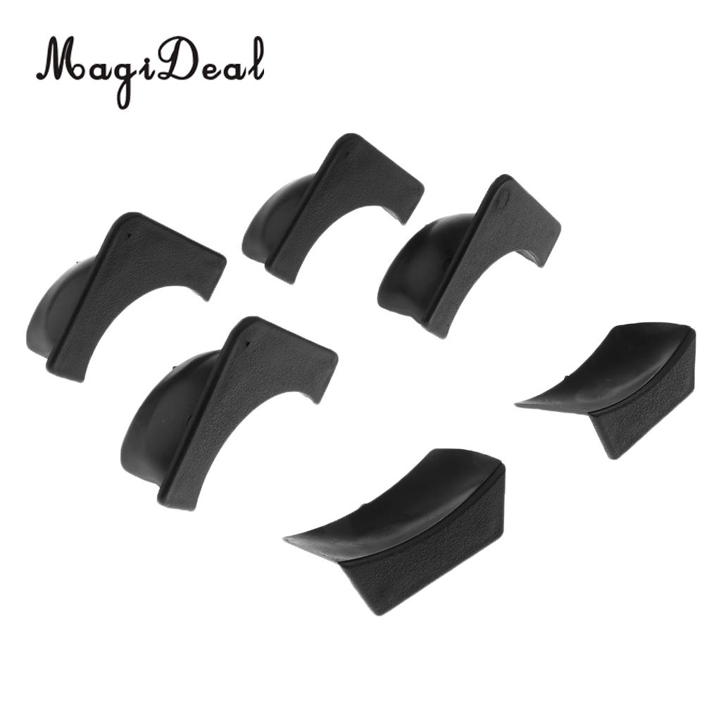 MagiDeal Set of 6 Plastic Replacement Pool Table Pocket Liners - 4 Corner & 2 Side