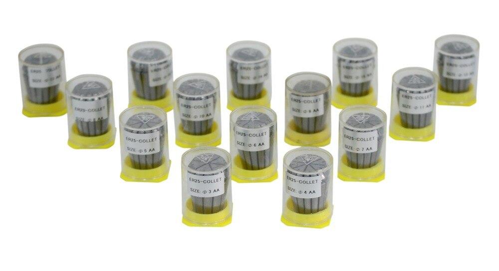 Купить с кэшбэком High precision ER25  Accuracy 0.008mm  Spring Collet For CNC milling lathe tool Engraving machine Free shipping