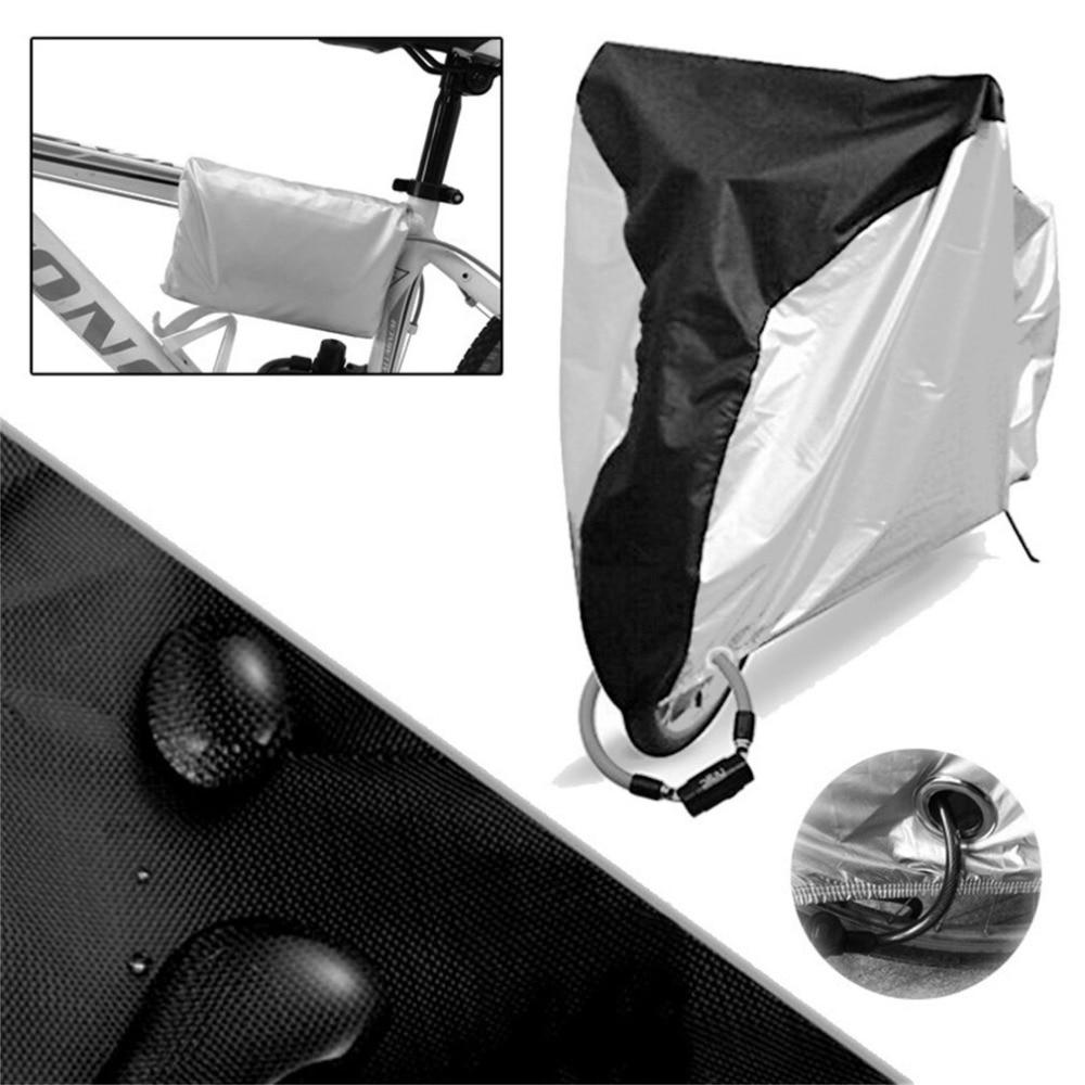Vélo Utilitaire De Vélo Vélo de Pluie Housse de protection Imperméable À L'eau En Plein Air Scooter De Protection Contre La Saleté UV Rayons Protecteur Couvre dans Équipement de protection de Sports et loisirs