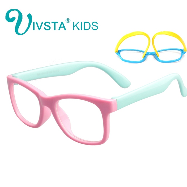 75629583b Ivsta الاطفال إطارات نظارات للأطفال tr90 مرنة للأطفال نظارات بنات نظارات  للبنين النظر الحول