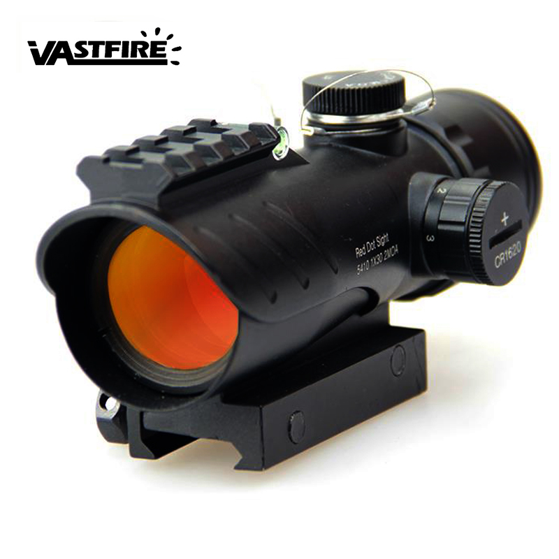 Hot 20mm Rail Riflescope Hunting Optics Holographic 1 Time Red 3MOA Dot Sight Reflex Tactical Rifle Scope Gun Accessories