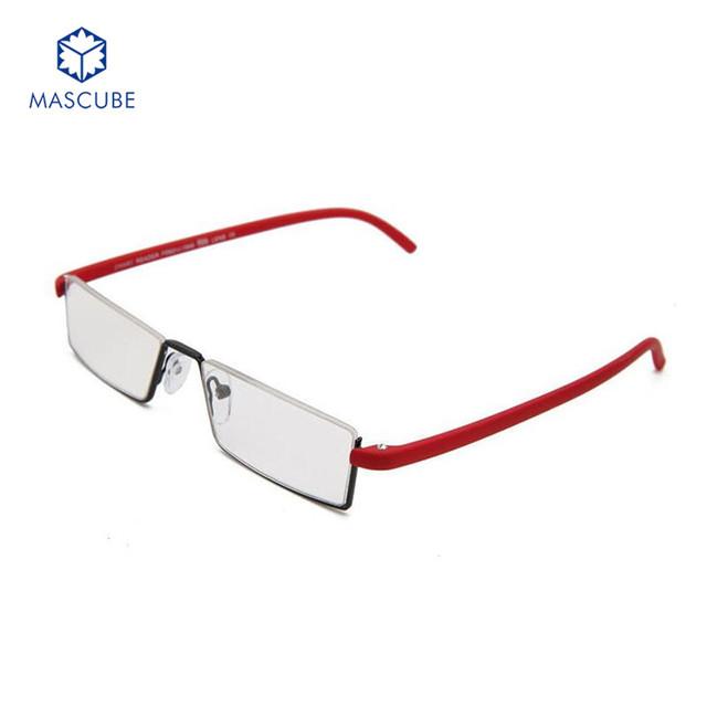 [MASCUBE] Prémio Alemão Luz Óculos de Leitura TR90 Não Distorce Os Idosos Óculos Elegante Óculos Da Moda Óculos de Leitura