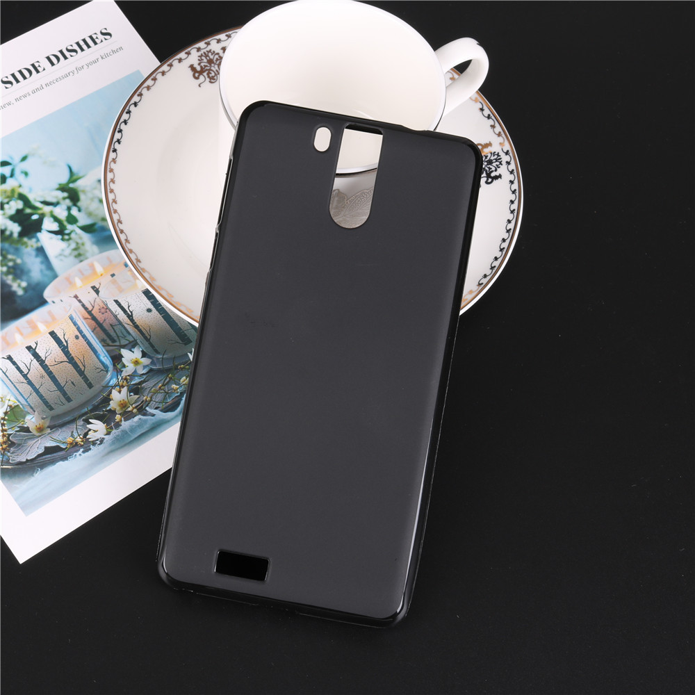 For <font><b>Oukitel</b></font> <font><b>K6000</b></font> <font><b>Pro</b></font> <font><b>Case</b></font> 5.5'' Silicone TPU Soft Black Coque Phone <font><b>Case</b></font> for <font><b>Oukitel</b></font> <font><b>K6000</b></font> <font><b>Pro</b></font> Cover Fundas Accessories image