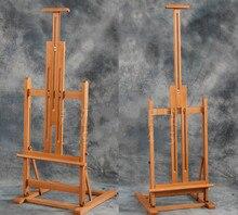 ציור ציור שמן הרמת מתקפל רב תכליתי לוח פרסום תערוכת אמן סטנד עץ ציור כן ציור סקיצה cavalete
