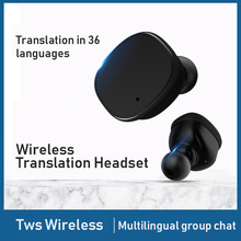 Smart Voice Translator 36 Languages instant Translate  tws Wireless Bluetooth Earphone Business