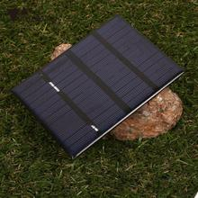 amzdeal 1.5W 12V Ploycrystalline Solar Panel Energy Power Plate Charge Professional Outdoor Travelling Powerbank Board DIY Cell