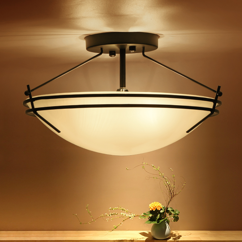 Modern Nordic Iron Glass Ceiling lights Balcony Hallway Kitchen Aisle Living Room Mediterranean Ceiling lamp Fixtures Luminaire japanese style tatami floor lamp aisle lights entrance corridor lights wood ceiling fixtures tatami wood ceiling aisle promotion