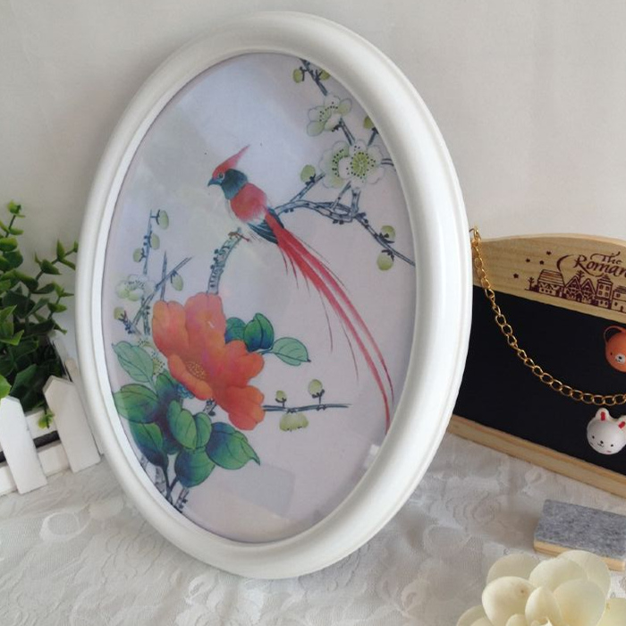 Klassische Oval Bilderrahmen Wanddekoration Ellipse Bilderrahmen ...