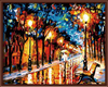Frameless Pictures Painting By Numbers DIY Digital Oil Painting On Canvas Home Decoration 40x50cm Walking In