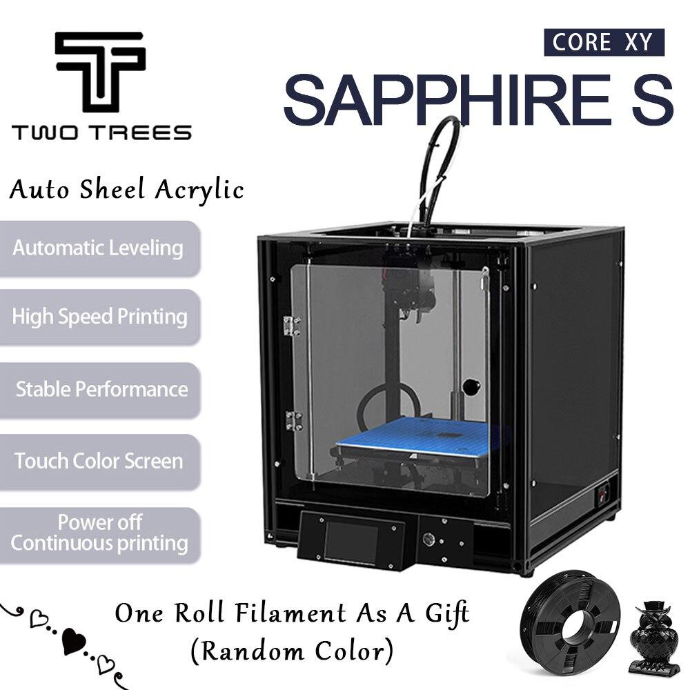 Deux arbres imprimante 3D haute précision saphir S CoreXY Aluminium profil cadre grande zone Kit noyau XY structure nivellement automatique-in Imprimantes 3D from Ordinateur et bureautique on AliExpress - 11.11_Double 11_Singles' Day 1