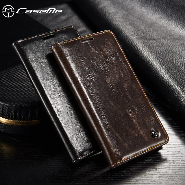 CaseMe Flip Leather Cases For Samsung I9500 Galaxy S4 SIV I9505 GT-I9500 S4 CDMA SCH-I545 Mobile Phone Protective Covers