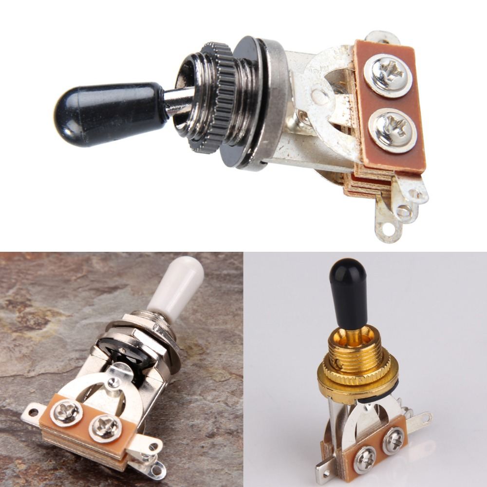 цены 3-Way Guitar Selector Pickup Toggle Switch Parts for New pickups Parts Guitar High Quality Guitar Accessories Switch Guitar New