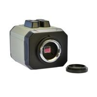 1200TVL BNC Microscope Camera Color CCD Industrial Microscope + 100X Lens Monocular Video Camera
