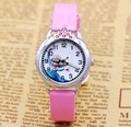 2016 fashion elsa anna watch children watch cute cartoon watch kids cool 3d rubber quartz watches hour clock