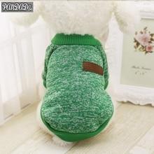 Puppy Dog Winter Warm Cotton Clothes Pet Cat Jacket Coat Hoodies Sweater Pet Big Size Clothing