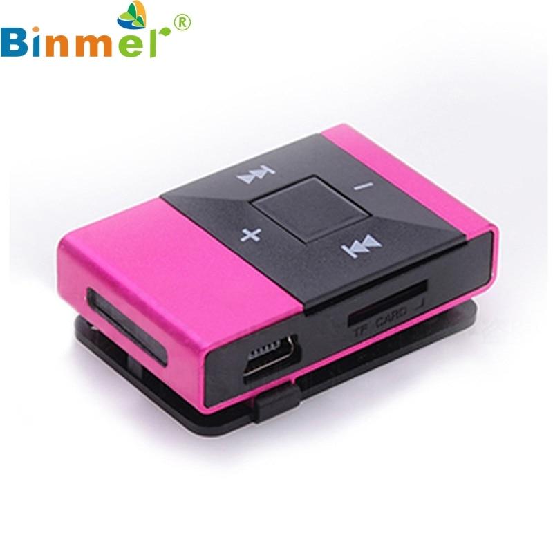 Binmer A18 neue Mini-USB-Clip-Digital-MP3-Musik-Player-Unterstützung - Tragbares Audio und Video - Foto 3