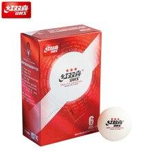 Dhs Ittf мячи для настольного тенниса, 3 звезды D40+ мячи для настольного тенниса, Новые Пластиковые Мячи для пинг-понга