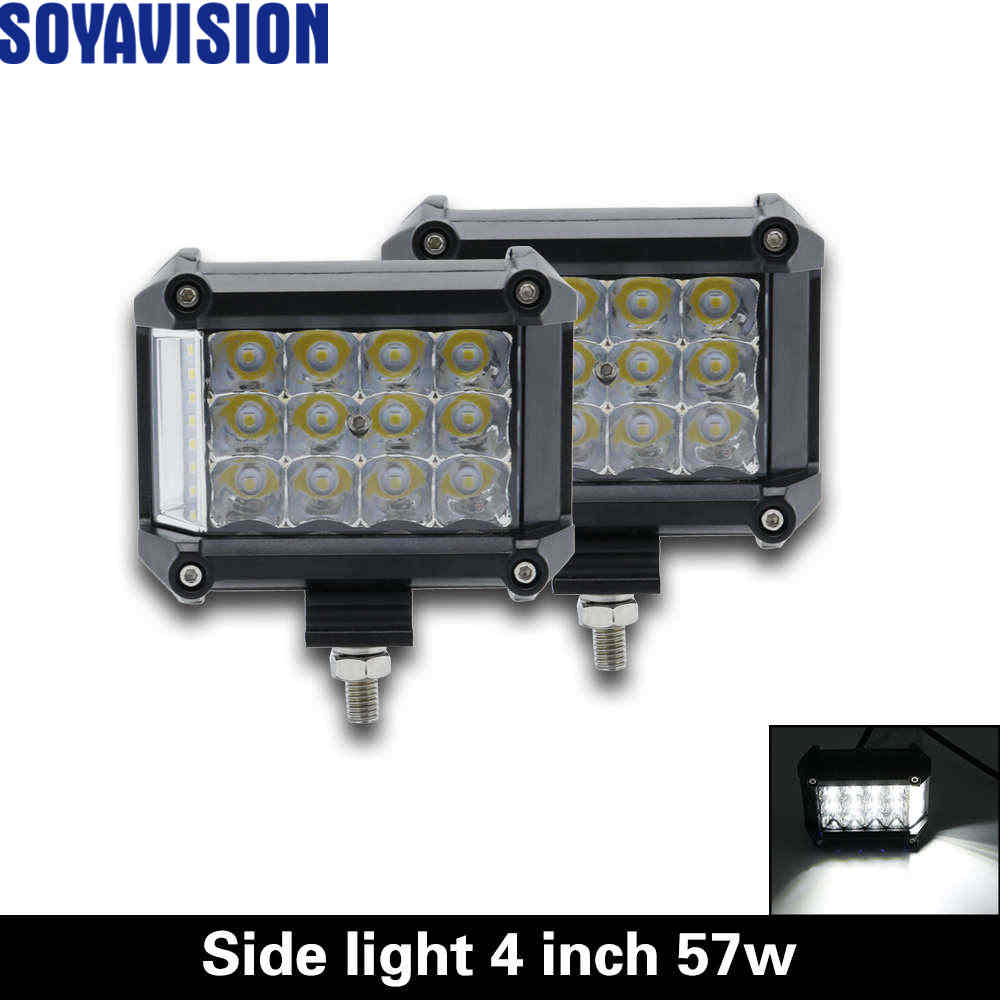 Quad Row LED Light Bar Work Spot Flood Off Road Truck 4WD Boat for Jeep Driving