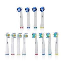 Шт. 4 шт. Сменные зубные щётки для гигиены полости рта B Cross Floss Action Precision мягкая щетина электрические зубные щетки