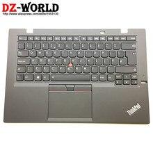 Новая/оригинальная для Thinkpad X1 углерода 3rd Gen 20BS 20BT британский английский клавиатура с подсветкой и Упор для рук тачпад 00HT329 00HN974 SM20G18634