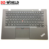 New Original for Thinkpad X1 Carbon 3rd Gen 3 TYPE: 20BS 20BT UK English Backlit Keyboard with Palmrest Touchpad 00HT329 00HN974