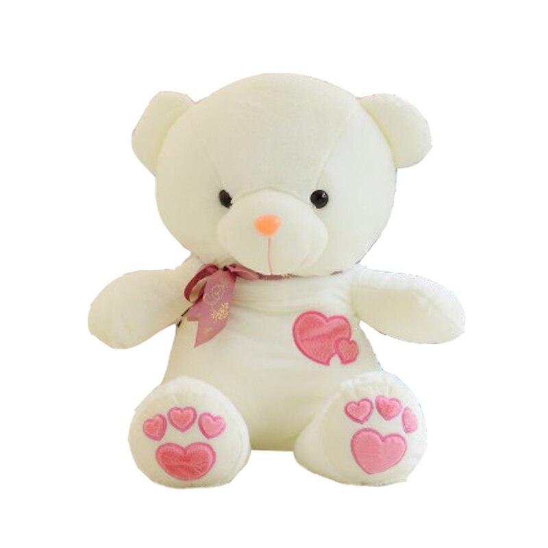 Birthday Valentines Gift Bow Tie Teddy Bear Wedding Plush Toy Kawaii Care Bears Lovely Baby Toys High Quality Loving heart Bear