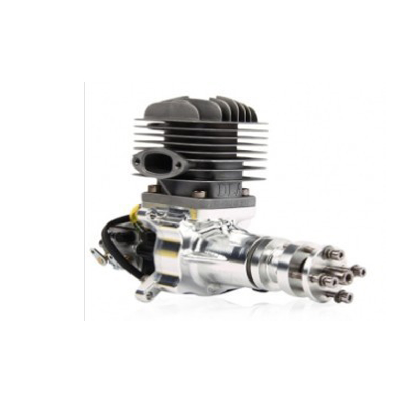 Upgraded Version DLA32 DLA 32CC CNC Processed Gasoline Engine/Petrol Engine for RC Gas Airplane with Single Cylinder aluminium tuned exhaust pipe for zenoah crrc rcmk petrol marine engine rc gas boat