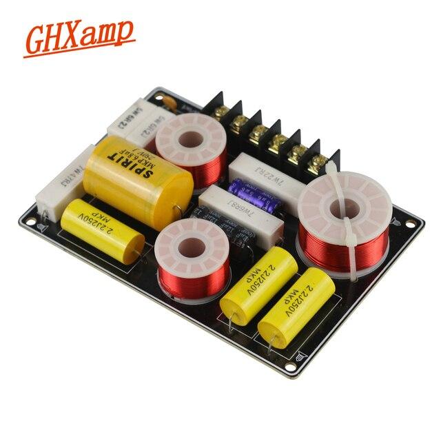 GHXAMP haut parleur filtre diviseur de fréquence 2 voies haut parleur croisé professionnel Tweeter Woofer Crossover Audio Board 150 W 1 PC