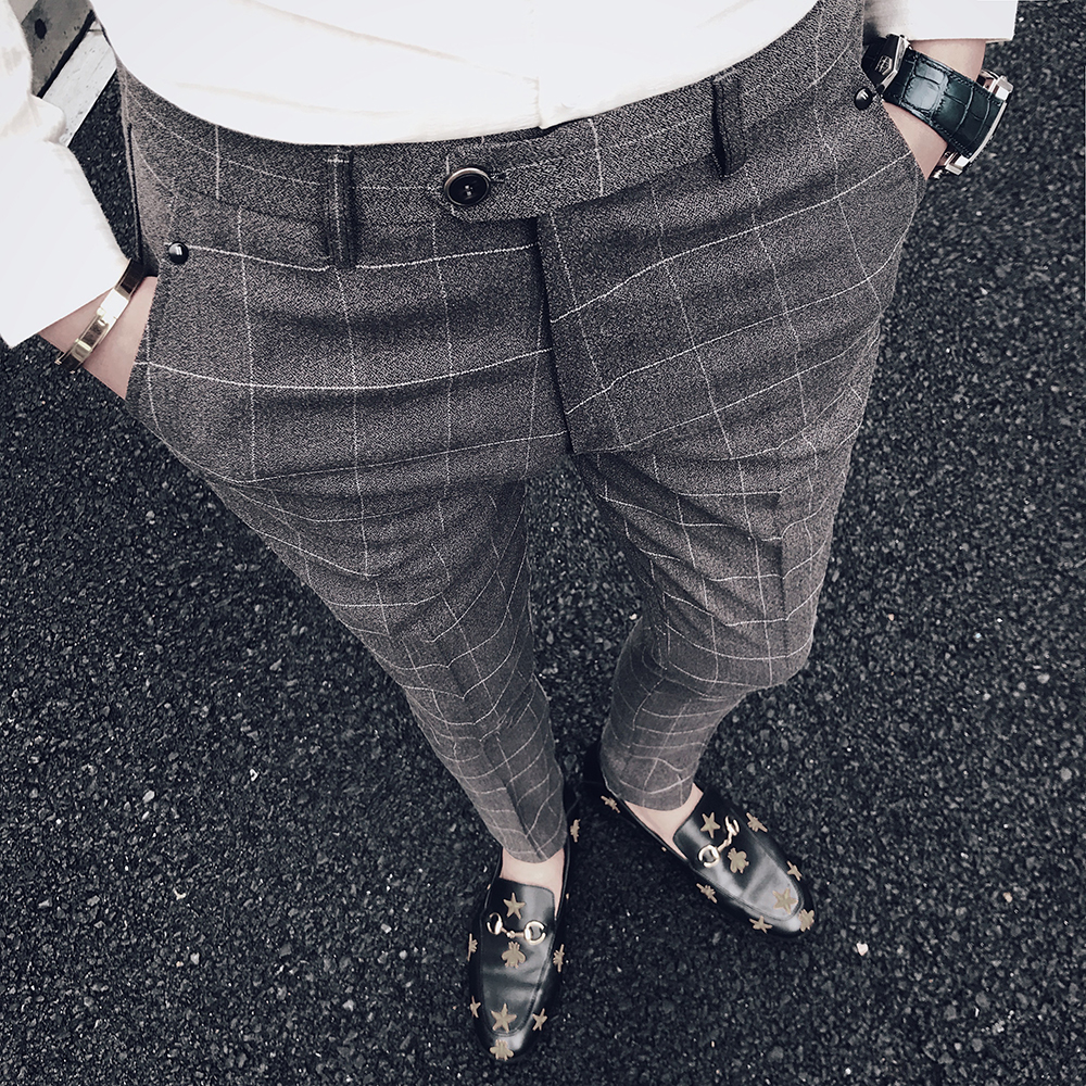 Brand Men's Casual Pencil Pants