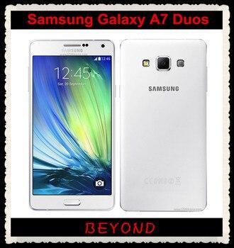 Samsung Galaxy A7 Duos Original Unlocked 4G Gsm Android Mobile Phone Dual Sim A7000 Octa Core 5.5 Beyound Tech/hoodmat.com
