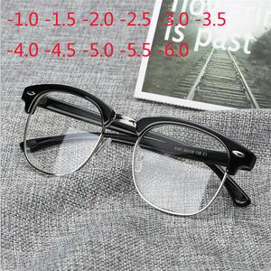 d332742a84 VIPEYE Retro Student Women Men Finished Myopia Glasses -1.5