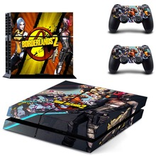 Game Borderlands 2 PS4 Skin Sticker Decal Vinyl for Playstation 4 Console and Controllers Stickers