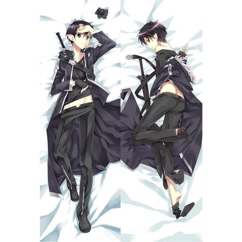 Anime Sword Art Online Yuuki Asuna Dakimakura Hugging Body Pillow Case Cover