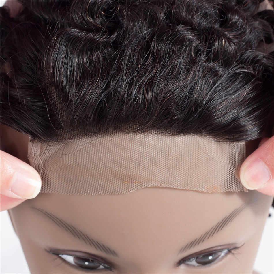 Plecare кружевная фронтальная бразильская прямая 13*4 кружевная Фронтальная застежка 1 шт. натуральный цвет не Реми 100% человеческие волосы для наращивания