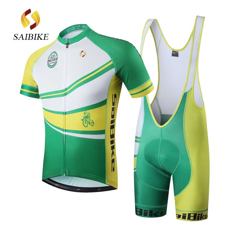 saiBike Cycling Jersey Set men summer Breathable cycling Clothing equipaciones ciclismo hombre verano bicicleta camisola