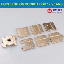 ТЕНГЕ 7in 1 iphone NAND чип socket test tool Applicable микросхема iPhone 4 4S 5 5C 5S 6 6 P моделей NAND читать и переписать