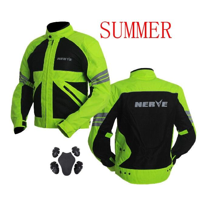 f34f5576194 ღ ღDe malla de los hombres del verano chaqueta de la motocicleta ...