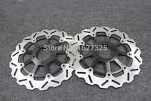 Brand new Motorcycle Front Brake Disc Rotors For DUCATI 848 (Radial 2 pad Caliper)/ 848 Evo (Monobloc fronl calipers) 10-11