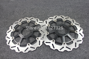Brand new Motorcycle Front Brake Disc Rotors For DUCATI 848 (Radial 2 pad Caliper)/ 848 Evo (Monobloc fronl calipers) 10-11