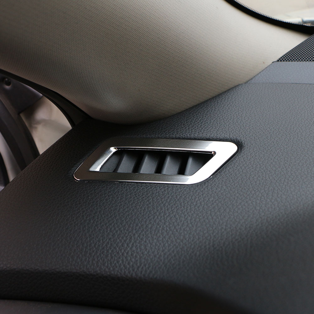 Zlord Car Air Conditioning Vent Trim Cover Sticker for Nissan Qashqai J11 2013 - 2018 Parts New X-Trail Xtrail X Trail T32