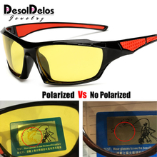 2019 Night Vision Glasses Driver Driving glasses Yellow Lens Classic Anti Glare Safety UV400