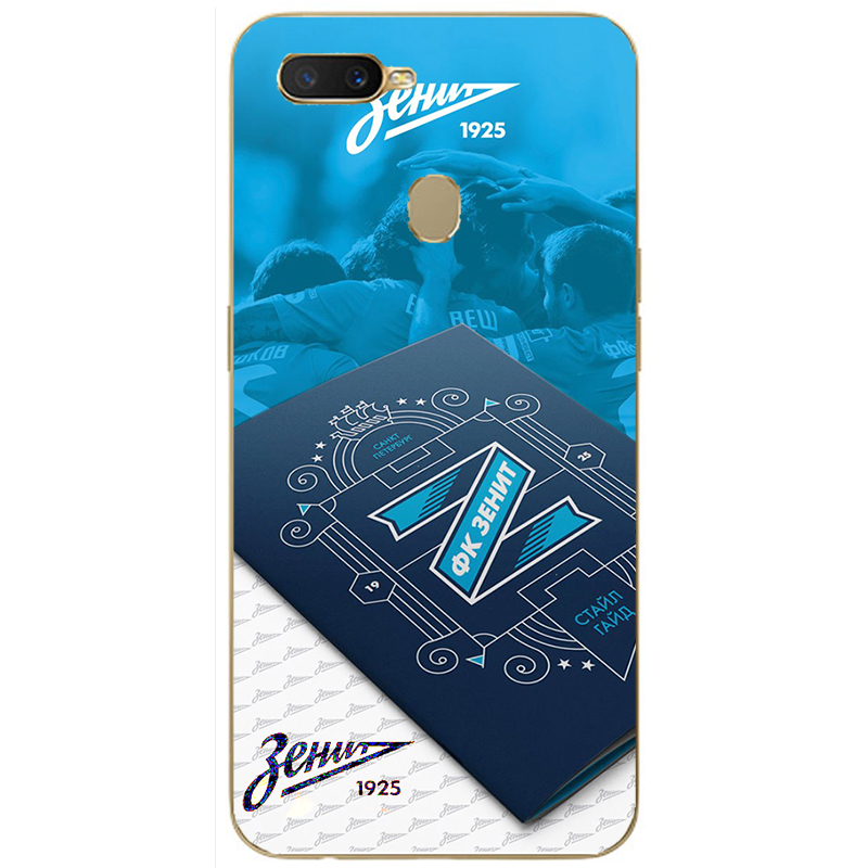 FC Zenit football Club Logo soft silicone Painting Case For Oppo Realme C1 C2 U1 1 2 3 Pro X Lite Mobile Phone Printed Cover