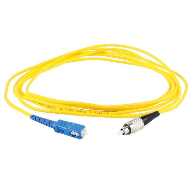 US $3 02  2m 3m 5m SC to FC Optical Fiber Patch Cord Jumper Cable, SM  FC/UPC SC/UPC 3 0, Single Mode Simplex Fiber Cable 9/125um-in Computer  Cables &