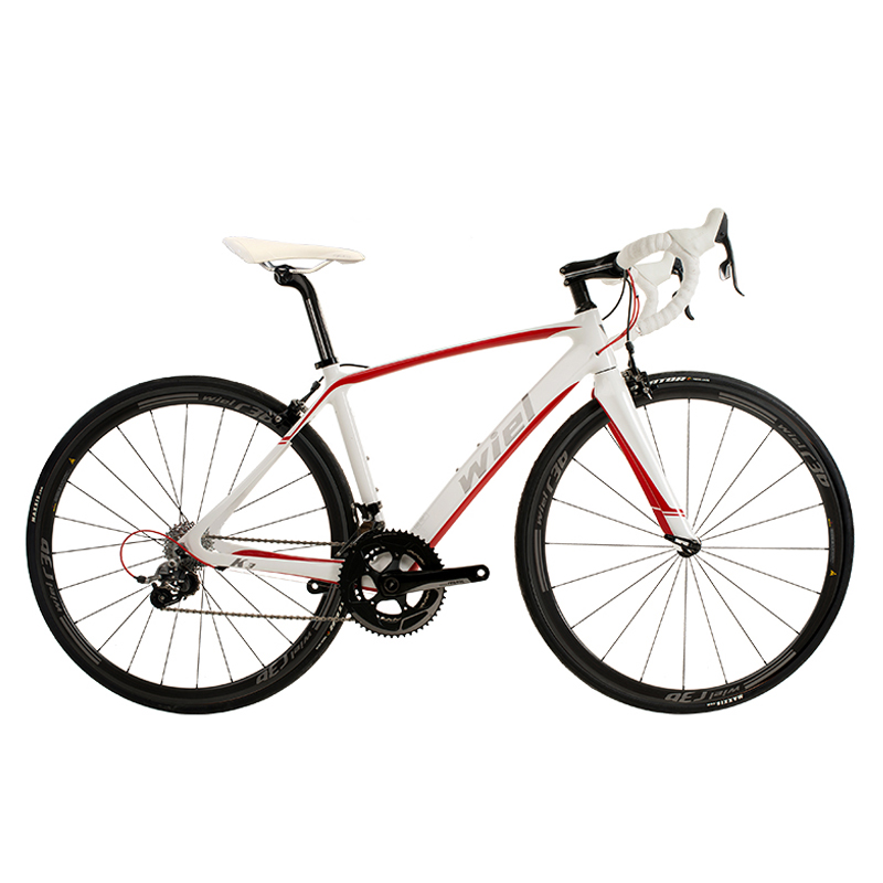 WIEL K3 700C Road Bike Carbon Fiber Frame / Fork/Seat Post Cycling Bicycle 22 Speed SRAM RIVAL Carbon 36C  Wheels