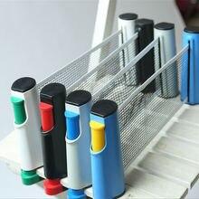 Сетка для настольного тенниса портативная выдвижная стойка для пинг-понга сетка для любого стола